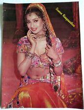Rare Bollywood Actor Poster - Suman Ranganathan - 12 inch X 16 inch