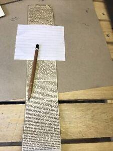 Old Newspaper Cutting Durham . Account Joseph Hutchinson Murdered Father Brother