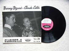 "LP BARNEY BIGARD & CLAUDE LUTER ""Clarinet X 2"" VOGUE LD. 536-30 FRANCE §"