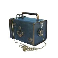 Steampunk pirate clutch Purse Octopus Victorian retro Nautical lunch bag box
