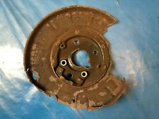 Rover 75 // MG ZT Left Side Rear Brake Back Protection Plate (Part #: SMF100201)