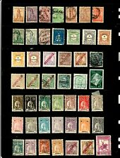 Angola stamps, small collection of 47, mostly classics, mint/used w/BOB, SCV $49