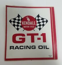 Lot of 5 Vintage Kendall GT-1 Racing Oil Vinyl Decal Sticker NOS