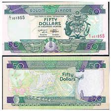 SOLOMON ISLANDS - ISLAS SALOMON 50 DÓLARES 1996 Pick 22  Sign 6    SC  UNC