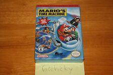 Mario's Time Machine (NES Nintendo) NEW H-SEAM SEALED, NEAR-MINT, RARE!