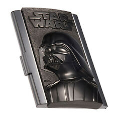 STAR WARS DARTH VADER BUSINESS CARD HOLDER METAL BRAND NEW GREAT GIFT