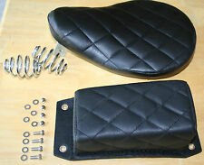 Complete Seat And Pillion Pad Diamond Bates Style Custom Deluxe Brand New (49)