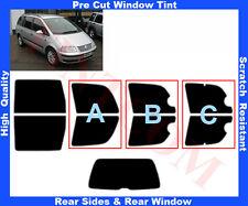 Pre Cut Window Tint VW Sharan 2007-2009 Rear Window & Rear Sides Any Shade