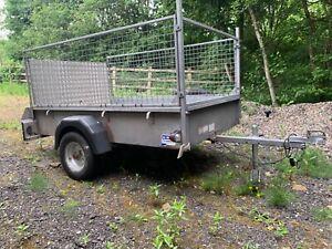 ifor williams p6e caged trailer