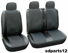 Sitzbezüge housses de protection set ay vw t5 Caravelle en tissu noir