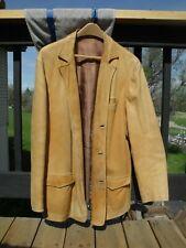 Nice Vintage Handmade Leather Jacket Coat Harry Amann Denver Est. 1914
