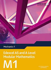 Edexcel AS and A Level Modular Mathematics Mechanics 1 M1 by Pearson...