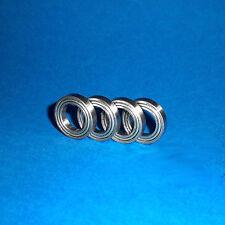 4 Kugellager R8 ZZ / Zoll / Inch / 12,7 x 28,575 x 7,9375 mm