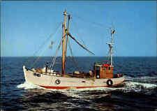 Schiffsfoto-AK ~1960/70 color Postkarte Hochsee Fischerboot Fischerei Schiff SC4