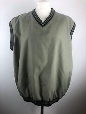 Sunderland Of Scotland Men's Golf Pullover Green Vest Perfect Condition Size XL