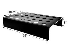 Ice Cream Cone Holder Mini 24 Slot Black Acrylic Tabletop Qty 24