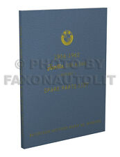 BMW Isetta Parts Book 250 300 1956 1957 1958 1959 1960 1961 1962 Part Catalog