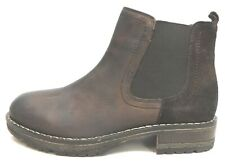 Steve Madden Size 7 Brown Leather Chelsea Boots New Mens Shoes