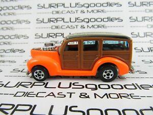 Hot Wheels LOOSE Collectible 2011 Hot Ones 1940's 40's WOODIE WOODY Panel Van