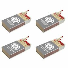 Ultimate Survival Technologies Waterproof Matches 40-Count 4-Boxes w/Strikers