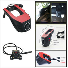 HD WiFi Car DVR & Rear Camera Night Vision G-Sensor Wifi Vehicle Video Dash Cam