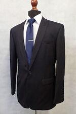 Viscose Single Striped Regular Suits & Tailoring for Men