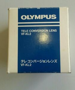 OLYMPUS VF-KL2 Tele Conversion Lens 1.5X in Original Case and Box