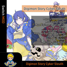 Digimon Story: Cyber Sleuth (Switch Mod)-Max Money/Level/stats/All Digimon