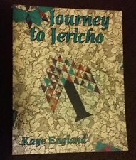 JOURNEY TO JERICHO Book - KAYE ENGLAND - BIBLE Scripture Inspired Quilt Blocks!