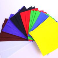 Felt Sheets Pack of Coloured A4 Fuzzy Thick Pieces Pack of 50