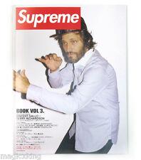 Supreme Book Volume 3 Magazine Collection w Tote Bag Limited Exclusive RARE