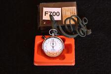 Hanhart Anker 11 Jewels Steine Stoppuhr alte 1/10 sec ehemals Bund BW Uhr F700