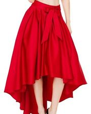CB Hi Lo Flare skirt RED ONLY SIZE Small