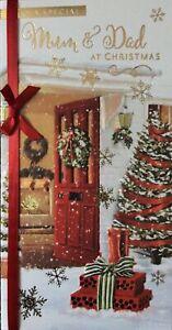 MUM AND DAD CHRISTMAS CARD