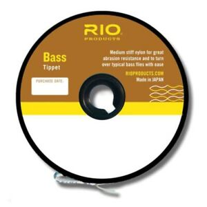 RIO Bass Tippet - NEW FREE SHIPPING