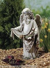 """16.5"""" Angel with Birds on Dress Garden Statue Outdoor Joseph's Studio # 62854"""