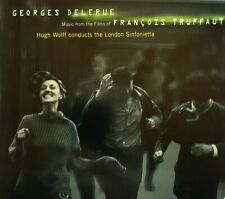 "GEORGES DELERUE  -  "" MUSIC FROM THE FILMS OF FRANCOIS TRUFFAUT "" - NEUWERTIG"