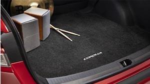 2020 Toyota Corolla Genuine OEM Cargo Trunk mat (w/ Logo) - Black PT206-02204-02