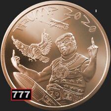 2020 Donald Trump 1OZ .999 copper MAKE a MERICA GREAT AGAIN SILVER SHIELD