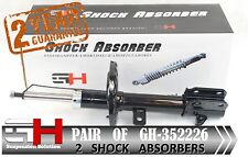 2 NEW FRONT  SHOCK ABSORBERS FOR NISSAN MICRA K12 01.2003-> / GH-352226H /