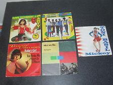 Old German Issue New Wave Vinyl Singles