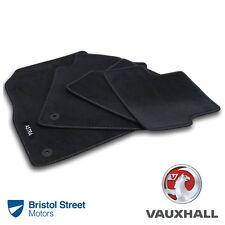 Genuine Vauxhall Astra J/MK6 Velour Black Tailored Front/Rear Carpet Floor Mats