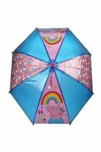 BRAND NEW PEPPA PIG UMBRELLA KIDS BOYS GIRLS RAIN SCHOOL BROLLY GIFT