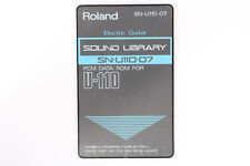 Roland SN-U110-07 Electric Guitar Sound Library PCM Data ROM for U-110 U110