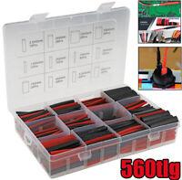 100x Schrumpfschlauch 10cm 1,5-13mm Sortiment Schrumpfschläuche Transparent BWI
