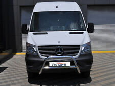 VW CRAFTER STAINLESS STEEL CHROME NUDGE A-BAR, BULL BAR 2006-2013 W K