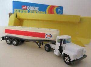 Corgi Juniors Mack 'Esso' Petrol Tanker  - Corgi Toys Commercial Vehicles