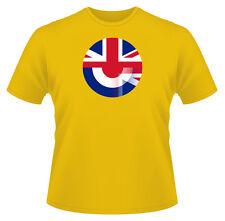 Men's T-Shirt, Mod Union Jack, Ideal Gift, Birthday Present