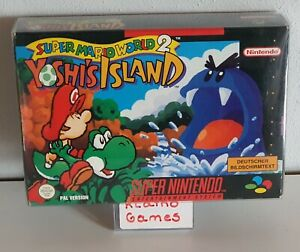 SNES - Super Mario World 2: Yoshi's Island - (OVP, mit Anleitung)  C3709