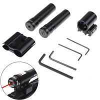 Tactical Red Dot Laser Sight Scope With Mount For Pistol Rail And Rifle Hunt KW